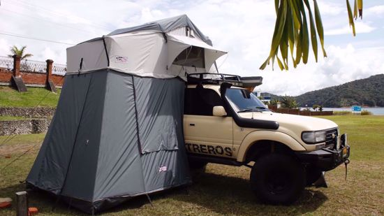 Picture of Dobinsons CE80-3924 Rooftop Tent w/ Annex