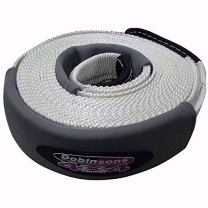 "Picture of Dobinsons SS80-3803 Dynamic 4"" Tow Strap, 30ft, Rated @ 24.2k lbs"