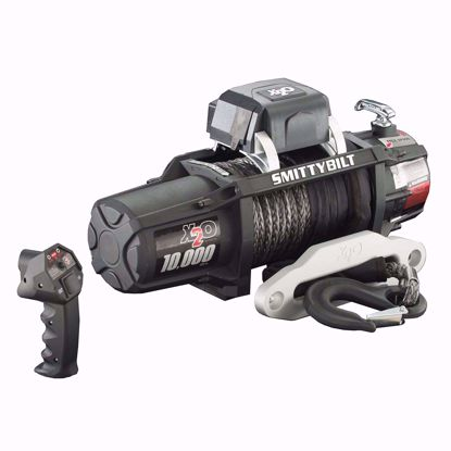 Picture of Smittybilt 98510 X20 10k Winch w/ Synthetic Rope