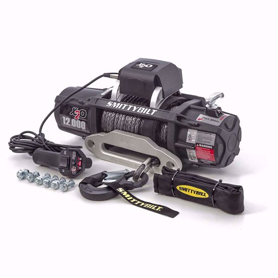 Picture of Smittybilt 98512 X20 12k Winch w/ Synthetic Rope