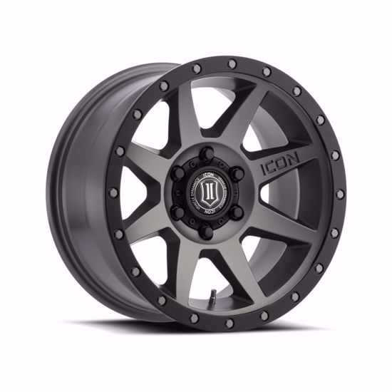 "Picture of Icon 17"" x 8.5"" Rebound Alloy Wheel"