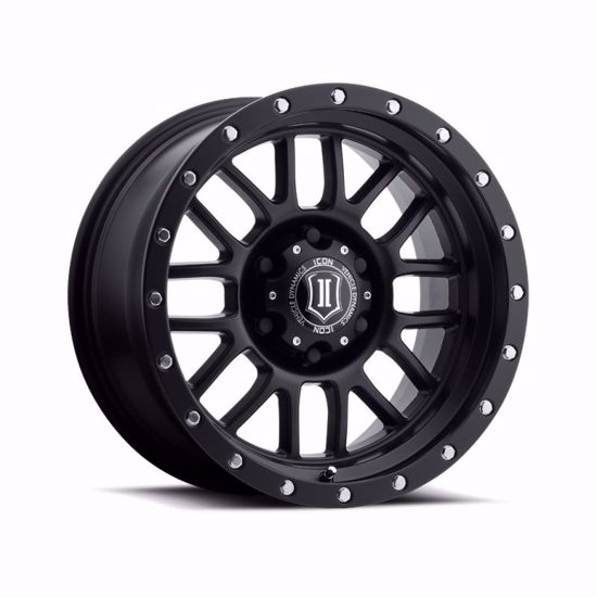 "Picture of Icon 17"" x 8.5"" Alpha Alloy Wheel"