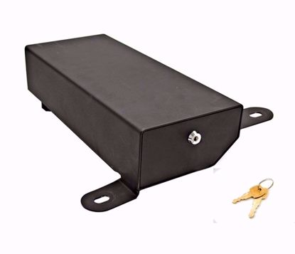 Picture of Bestop 42642-01 JK Jeep Wrangler 4-Door Highrock Under Seat Lockbox, Passenger Side