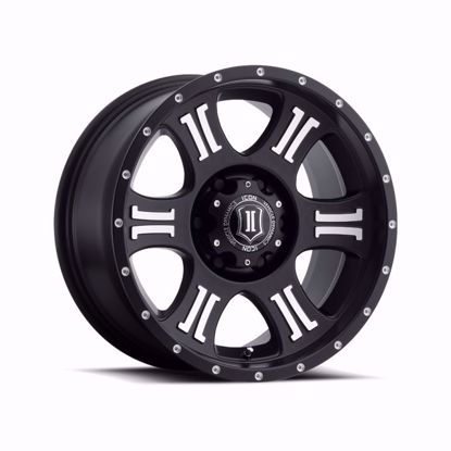 "Picture of Icon 17"" x 8.5"" Shield Alloy Wheel"