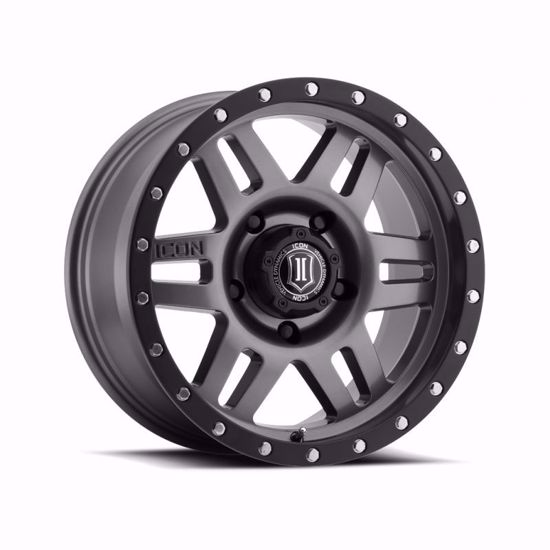 "Picture of Icon 17"" x 8.5"" Six Speed Alloy Wheel"
