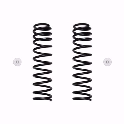 "Picture of Icon 22025 2018-Up Jeep Wrangler JL 2.5"" Front Dual Rate Coil Spring Kit"