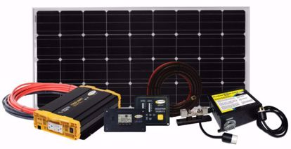 Picture of Go Power! WEEKENDER-SW Complete Solar Charging System Kit