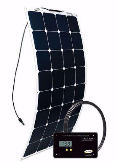 Picture of Go Power! GP-FLEX-100 Flexible 100 Watt Solar Panel Kit w/ Controller