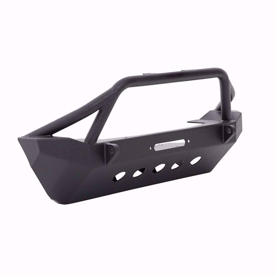 Picture of Smittybilt 76806 JK Jeep Wrangler XRC Front Bumper w/ Winch Plate