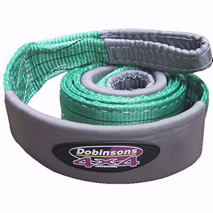 Picture of Dobinsons SS80-3827 Tree Saver Strap, 3in x 10ft, 26k Rated