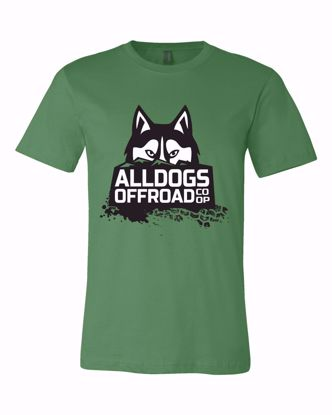 Picture of Alldogs Offroad Coop T-Shirt, Leaf