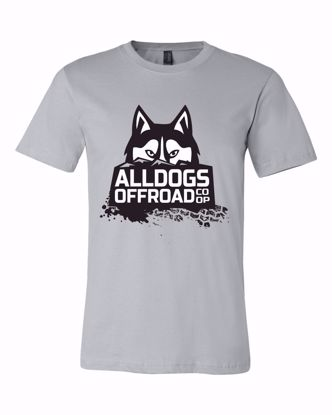 Picture of Alldogs Offroad Coop T-Shirt, Silver