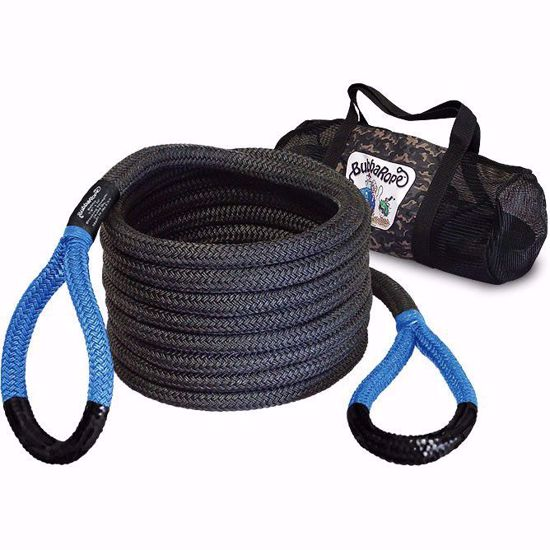 Picture of Bubba Rope 176660BLG 20ft Power Stretch Recovery Rope, 28k Max
