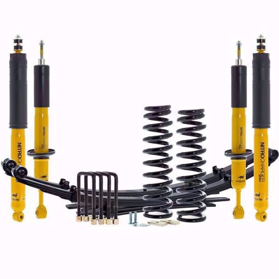 Picture of Old Man Emu 2nd Gen Nissan Frontier Suspension Lift Kit, Heavy Load