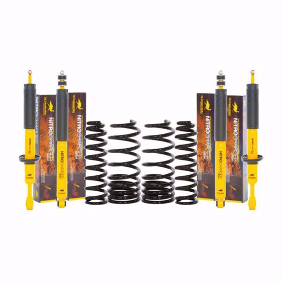 Picture of Old Man Emu 3rd Gen Mitsubishi Montero Suspension Lift Kit, Light/Med Load