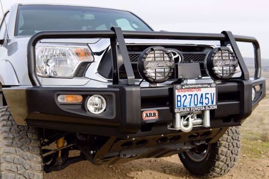 Picture of ARB 3423140  12-15 Toyota Tacoma Front Deluxe Steel Bumper