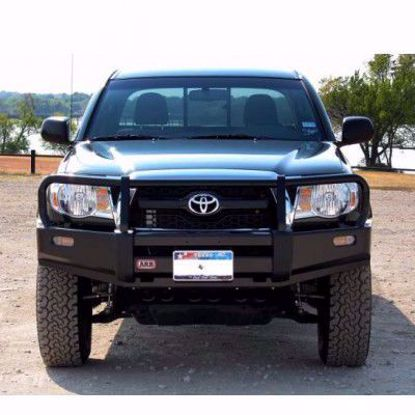Picture of ARB 3423030  05-11 Toyota Tacoma Front Deluxe Steel Bumper