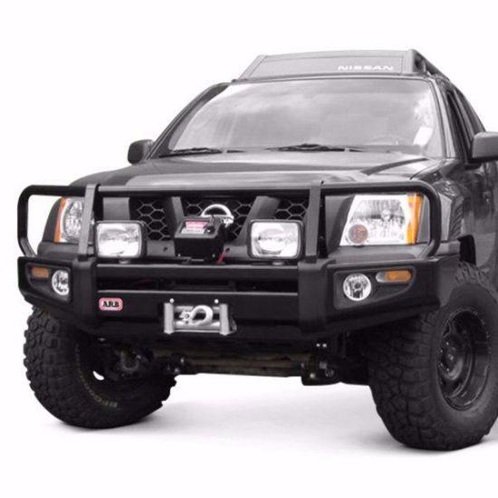 Picture of ARB 3438270 05-15 Nissan Xterra Front Deluxe Steel Bumper