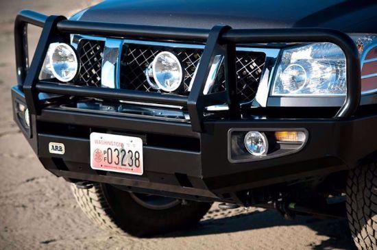 Nissan Frontier Bumper >> Arb 3438320 09 17 Nissan Frontier Front Deluxe Steel Bumper