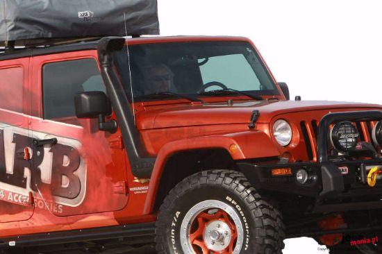 Picture of ARB SS1066HF 07-11 JK Jeep Wrangler Safari Snorkel Kit
