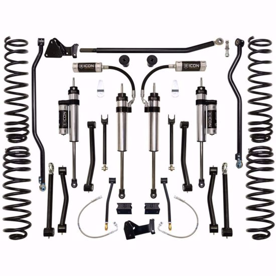 "Picture of Icon K24003 JK Jeep Wrangler Stage 3 4.5"" Suspension Lift Kit"