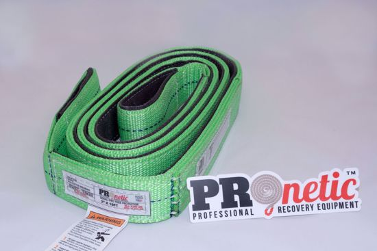 "Picture of PROnetic DPT310G Denali Pro 3"" x 10' Tree Protector Recovery Strap"