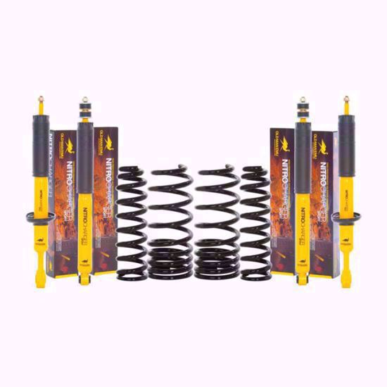 Picture of Old Man Emu R51 Nissan Pathfinder Suspension Lift Kit, Medium Load