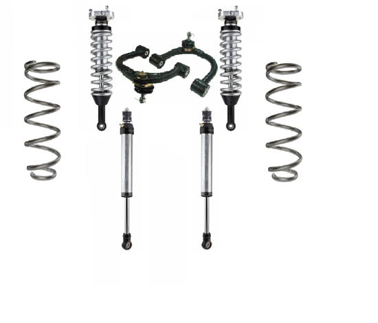 Picture of Radflo Performance Extended Travel Lift Kit - Toyota 120 Series