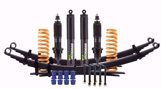 Picture of Ironman4x4 FCP Foam Cell Pro Suspension Lift Kit for 2nd Gen Nissan Frontier, Light/Medium Load