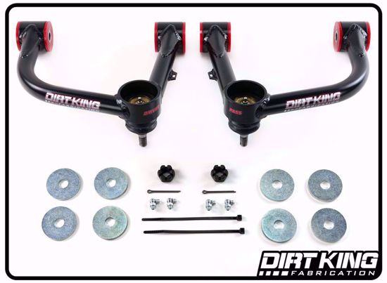 Picture of Dirt King DK-811901 Tubular Upper Control Arms for 2nd & 3rd Gen Tacoma  w/ Ball Joints