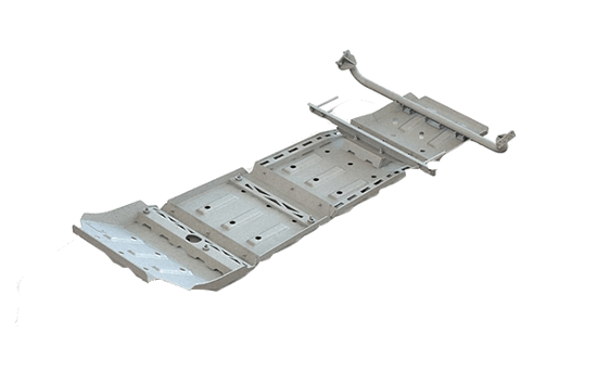 Picture of ARB 5423010 Toyota 2nd & 3rd Gen Tacoma Steel Skid Plates