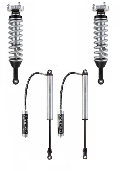 "Picture of Radflo Performance 2.5"" Coilover Lift Kit w/ 2.0"" Rear Res Shocks - 5th Gen Ford Ranger"