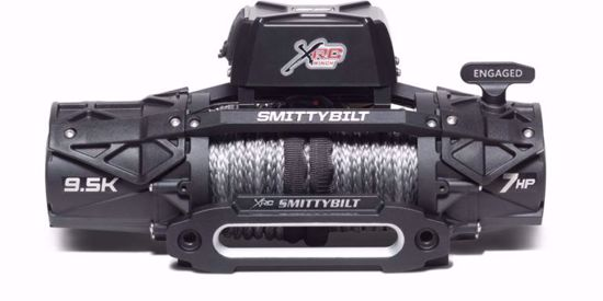 Picture of Smittybilt 98695 XRC Gen 3 9500lb Comp Winch w/ Synthetic Cable