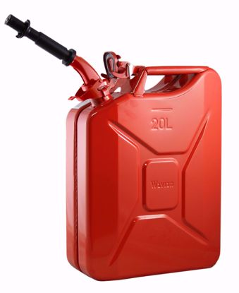 Picture of Wavian Steel Nato Jerry Gas Can, 5.3 Gallons / 20L