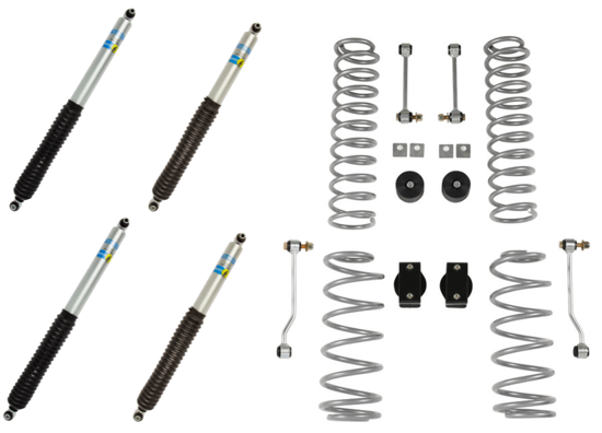 Picture of Alldogs Offroad Complete Lift Kit w/ Bilstein 5100's for JK Jeep Wrangler
