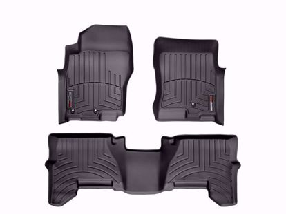 Picture of Weathertech Floorliner Kit for R51 Nissan Pathfinder