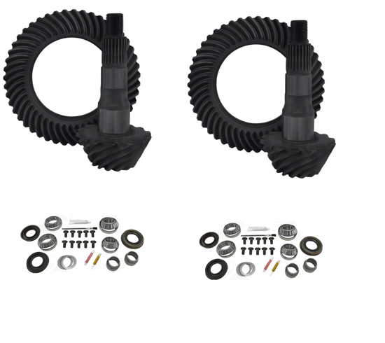 Picture of Yukon Gear 4.11 Ring and Pinion Kit for M205 Front & M226 Rear Nissan Differentials
