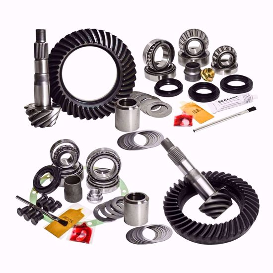 """Picture of Nitro Gear 5.29 Ring and Pinion Kit for 3rd Gen Toyota Tacoma, Factory-Elocker, 8.75"""" Rear"""