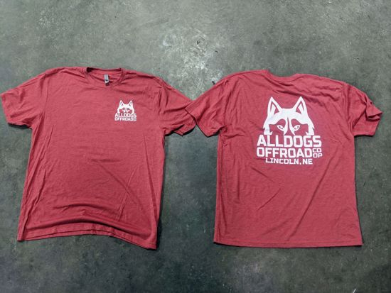 Picture of Alldogs Offroad Coop T-Shirt Red