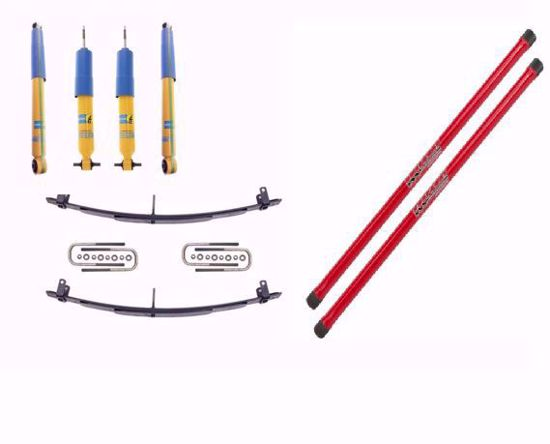 Picture of Alldogs Offroad Complete Kit for 1st Gen Nissan Frontier w/ Bilstein 4600's