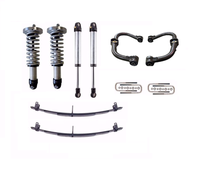 Picture of Alldogs Offroad Radflo Extended Travel Suspension Lift for 2nd Gen Nissan Frontier