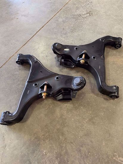 Picture of ADO Enhanced Lower Control Arms for Nissan Titan / Titan Swapped 2nd Gen Nissan Frontier & Xterra w/ Weld Washers