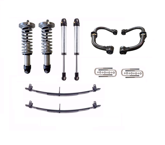 Picture of Alldogs Offroad Radflo Extended Travel Suspension Lift for 3rd Gen Nissan Frontier